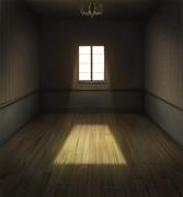 素っ気ない部屋