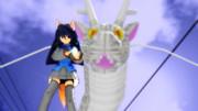 竜神様とお狐涼子