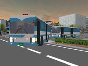 【MMD】いすゞ・エルガミオ 大型輸送車(警察) 作成完了!