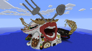 【Minecraft】飯テロ城