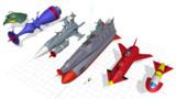 【MMD】現時点での「宇宙戦艦ヤマト1966くらい」関連作成モデル(再うp)