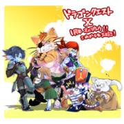 【猫島】 ドラゴンクエストX1周年オメデトウ!! 【LOVE】