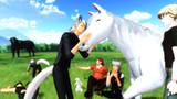 Ebiちゃんとお馬さん