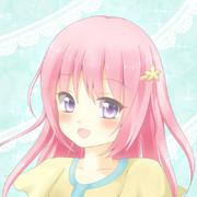 【フリーアイコン】ピンク髪ちゃん(オリジナル)
