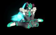 【MMD】機動休息女の子座りオン【機動歌姫ヴォーカリオン】