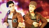 マルコとジャン【進撃のMMD】