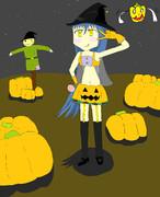 かぼちゃの魔女 (本気)