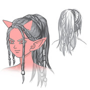 【DQⅩ】こんな髪型がほしいオーガ女
