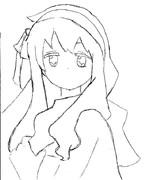 【カゲプロ】マリー ラフ画【みおり】