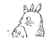 【水墨画】森の妖精
