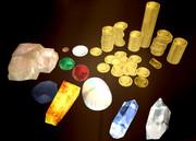 【配布】石と金貨