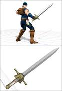 LUCKとPLUCKの剣を