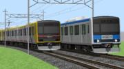 RailSimⅡ向け 東武鉄道60000系