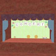 9月のコンサートステージ (配布)