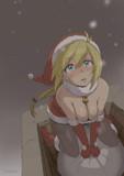 初雪と見習いサンタ