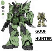 グフ・ハンター MS-07F