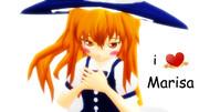 【第一回MMDより目上目遣い選手権】魔理沙