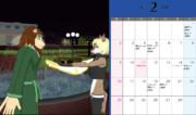 UTAU獣人カレンダー・2014年2月
