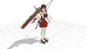 【MMD】赤城さんの飛行甲板【モデル配布】