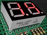 7セグメント LED C-552SRD