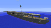 【Minecraft】航空母艦「鳳翔」