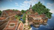 【Minecraft】海峡に交易路を拓く ~水辺の街~