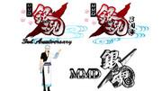 MMD銀魂3周年記念ロゴ 【MMDアクセサリ配布】