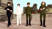 【MMD】帝國陸海軍ワイルドバンチ【第二回ガンアクションinMMD】