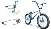 【MMD】BMX風自転車【ストリートタイプ】