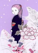濃紫(こむらさき)