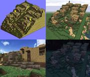 Minecraftでバルマムッサを作ってみた【タクティクスオウガ】