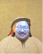 モンゴル帝国皇帝と化したたれぞう