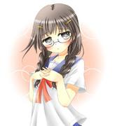 ☆三つ編み眼鏡っ子☆