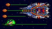 ドット絵 超時空戦闘機マリサ