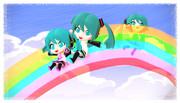虹のすべり台ダヨー