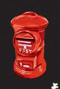 郵便ポスト の貯金箱