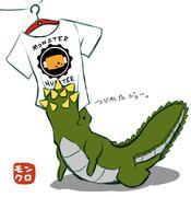 ユニクロ×モンハンコラボのTシャツの出来栄えにイビルも騙された!