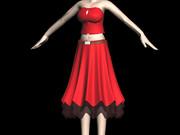 MEIKO専用衣装でのモデリング練習
