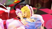 【MMD嫁の寝顔選手権】遊び疲れ。