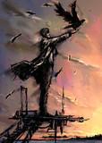 エホバくだりて、かの人々の建つる街と塔を見たまえり