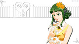 【HD背景】GUMI と 花(7月用)