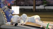 【MMD嫁の寝顔選手権】みょんの寝顔
