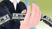アニメから学ぶ鉄道模型