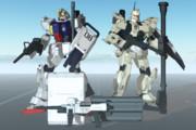 【MMD】陸戦型ガンダム(Ver.PYN)【モデル配布あり】