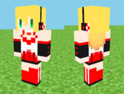 【Minecraft】弦巻マキ スキン 見本