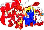 光の戦士たち
