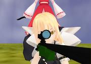 狙撃魔法使いと芋掘り巫女