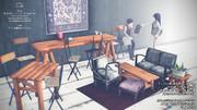 【更新】shabby chic furniture set 3