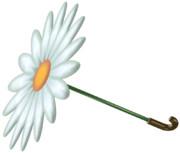 花びら日傘