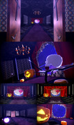 【MMDステージ】ハロウィン風味ステージ